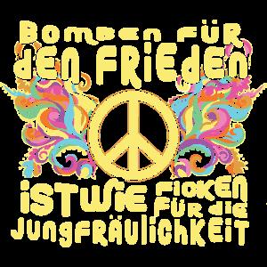 Bomben für den Frieden