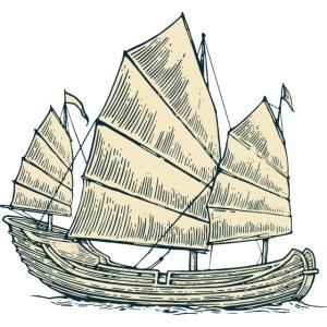 Japanisches Boot