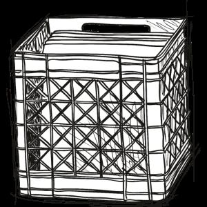 Vinyl-Schachtel
