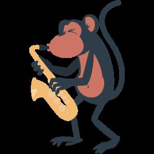 Saxophonaffe