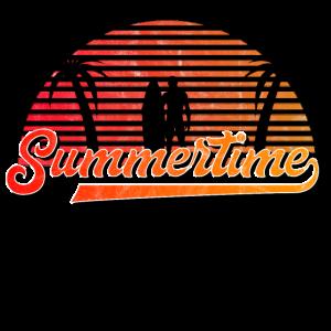 Summertime | Sommer Urlaub Strand Surfen Palme