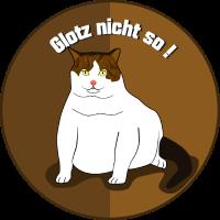 Katzen Glotz nicht so
