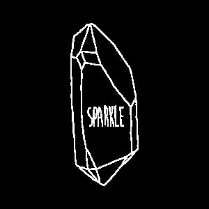 weiß Sparkle