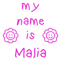 MALIA MEIN NAME
