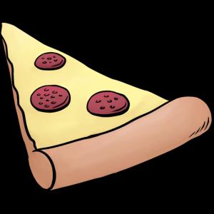 Pizzastück für Eltern-Baby-Partnerlook