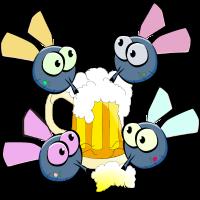 Fliegen Bier Party
