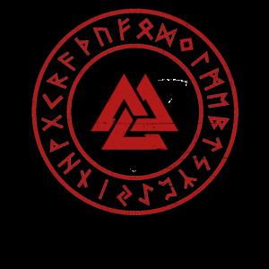 Wikinger Heidentum Symbol Rune Nordisch Nordmann