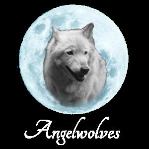 Weisser Wolf Angelwolves