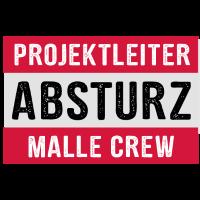 Projektleiter Absturz Malle Crew - Party feiern