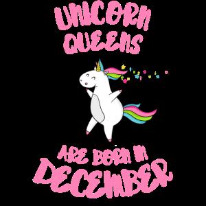 December Unicorn Queens
