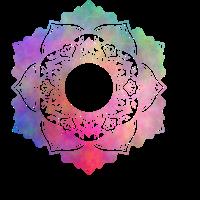 Mandala No. 4 Rainbow