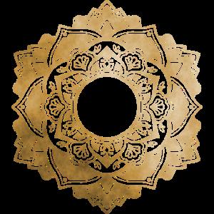 Mandala No.4 Gold