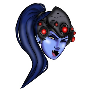 Original Design Cute Widowmaker Overwatch