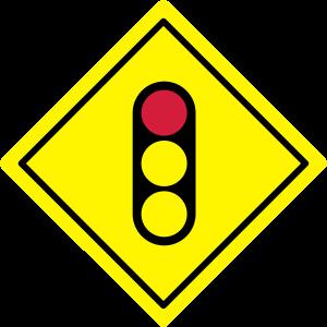 Verkehrszeichen Signal voraus
