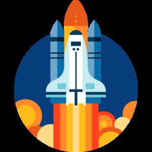 Space Shuttle starten