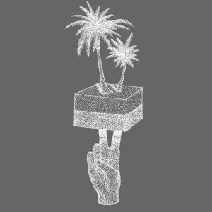 The Palm - Logo [WHITE]