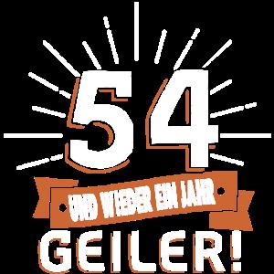 54. Geburtstag