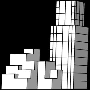 Tower Gebäude Komplex