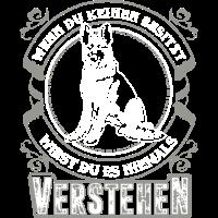 Schäferhund grau