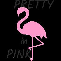pretty in pink flamingo