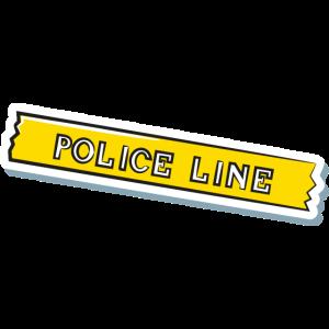 Polizei-Linie