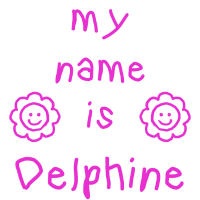 DELPHINE MEIN NAME