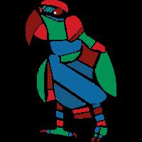Papagei Vektor Grafik