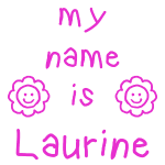 LAURINE MY NAME IS