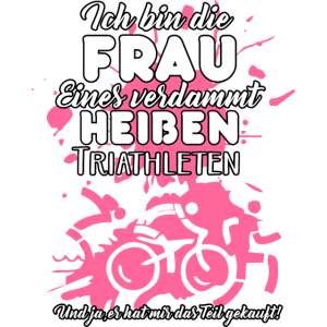 Triathleten Frau