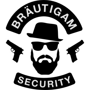 Bräutigam Security - JGA T-Shirt - Bräutigam Shirt