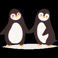 Pinguin Paar
