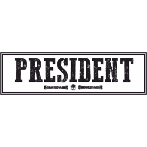 Triad Kings Präsidenten Patch Print.