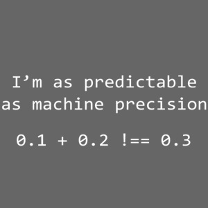Machine Precision - White