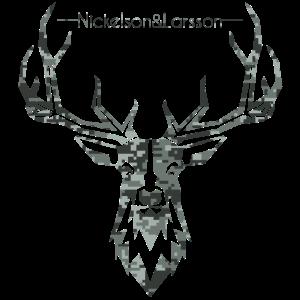digital camo deer