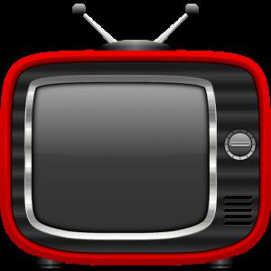 Retro Tv Rot 001 AllroundDesigns