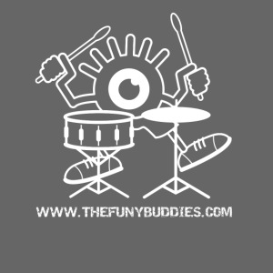 Buddy Drums + URL (White)