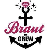 JGA T-Shirt - Team Braut - Braut Crew - Braut