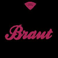JGA T-Shirt - Braut T-Shirt - Team Braut
