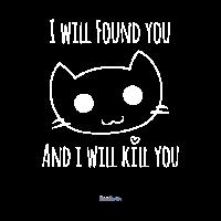 Humorvoll - Smiley süße Katze