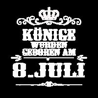 Könige wurden geboren am 8. JULI