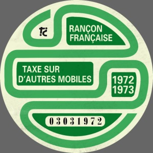 Vignette automobile 1972