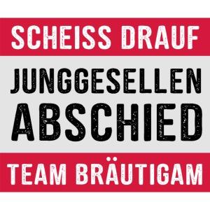 Team Bräutigam - JGA T-Shirt - Junggeselle Shirt