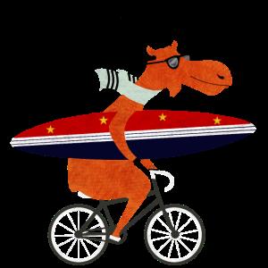 elch surfing