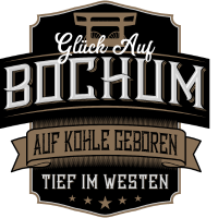 Glück Auf Bochum label