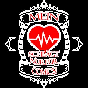 Mein Herz schlaegt nur fuer Comics