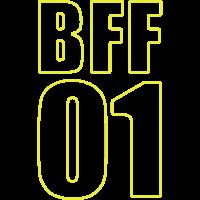 Bff Shirt - Beste Freundin - Bester Freund - Besti