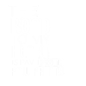 The road to my heart is paved with PAW PRINTS!