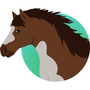 Pferde-Emblem