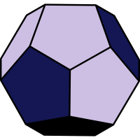 Platonischen Feststoff