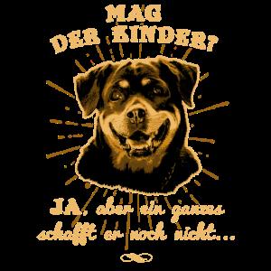 Rottweiler-Shirt - provokativ aber lustig